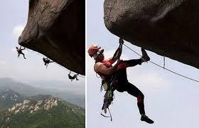 آموزش صخره نوردي